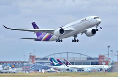 Thai Airways Airbus A350-900 (F-WZGQ) msn 44 futur HS-THB (Planes Spotter And Aviation Photography By DoubleD) Tags: airbus a350 a350900 msn 044 thai airways international toulouse lfbo tls