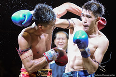 Punch of Muaythai (pitchmix) Tags: muaythai fighting thailand boxing people sport