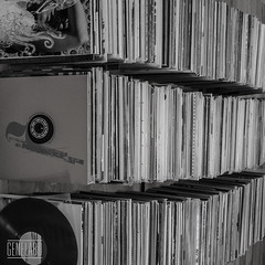 records (genelabo) Tags: bw sw genelabo black white records schallplatten vinyl collection