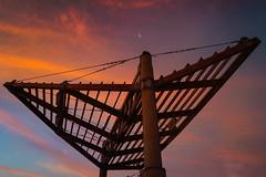 Structure | Lima, Per (carlo.paredes) Tags: sunset sunrise estructura sol ocaso peru miraflores sky sun nature moon luna warm gorgeous travel adventure up orange colours love
