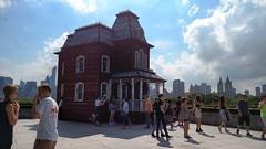House on the roof (DC Products) Tags: 2016 newyork newyorkcity manhattan uppereastside themet metropolitanmuseumofart art museum corneliaparker psychobarn metrooftop