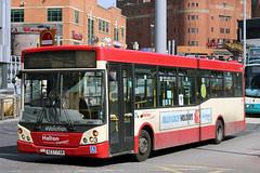 3 AE57 FAM (Cumberland Patriot) Tags: halton borough transport ltd dennis dart slf super low floor buses 3 ae57fam queen square bus station liverpool merseyside passenger road vehicle