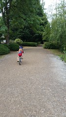 Riding with Elise (juan_guthrie) Tags: elise cycling comolake