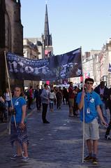 Mort (MalB) Tags: edinburgh duckinahattheatre terrypratchett mort festival fringe royalmile scotland pentax k5