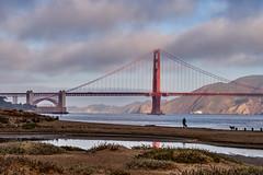 By the Bridge (AgarwalArun) Tags: sonya7m2 sonyilce7m2 sony sanfrancisco goldengatebridge goldengate bayareacalifornia iconicbridge pacificocean ocean bridge marincounty scenic views landscape reflections fog marinelayer