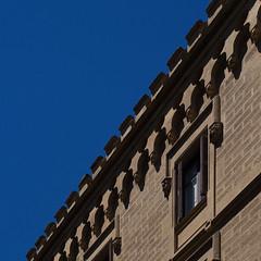 decoration (Cosimo Matteini) Tags: cosimomatteini ep5 olympus pen m43 mft mzuiko45mmf18 sansebastian donostia building sky blue decoration