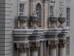 Detail - Groote Schuur Hospital (andryn2006) Tags: architecture capetown corinthiancolumn facade hospital urn victorian