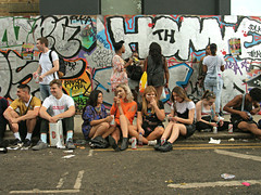 Kids (Becky Frances) Tags: beckyfrances city candid documentary england graffiti highcontrast london lensblr landscape nottinghill nottinghillcarnival olympus pollyblue portrait people streetphotography streetportrait socialdocumentary summer urban uk 2016