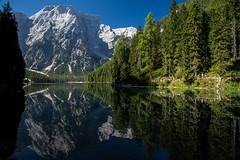 Lago di Braies et le Croda del Beco (mgirard011) Tags: braies trentinoaltoadige italie it ~themagicofcolours~xiv 200faves ~themagicofcolours~eliteii