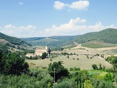 (electriksheep) Tags: italy tuscany santantimo abbey monastery montalcino valdorcia