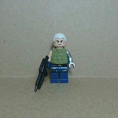 Cable (Vladislav Pavlovich) Tags: lego custom minifigure cable marvel xmen