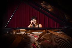 The Pianist (color) (tim.perdue) Tags: pianist piano player musician portrait headshot photo session concert grand steinway girl woman person figure smile publicity musical instrument ellen