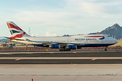 British Airways / B744 / G-BNLJ / KPHX 08L (_Wouter Cooremans) Tags: phx phoenix arizona spotting kphx sky harbor international airport skyharborinternationalairport skyharbor phoenixskyharbor avgeek aviation airplanespotting british airways b744 gbnlj 08l britishairways