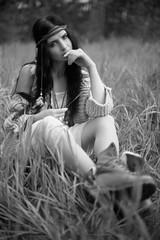 Tina (Anton_Kicker) Tags: f100 50mm nikon girl kodak tmax portrait bw 35mm analog