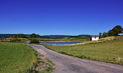 Rgion des mille tangs (Diegojack) Tags: paysages alsace vosges france etang route campagne corravillers