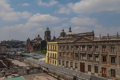 Centro historico 401 (L Urquiza) Tags: city scape zocalo catedral templo mayor mexico ciudad cityscape cdmx