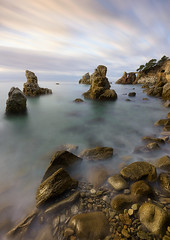 Rocks and rocks (Toni_pb) Tags: tonipou clouds colors catalonia cloudy cielo coast cala contrast costa caladelsfrares seascape sony sea sonyzeiss sonyzeiss1635f4fe sunrise stones agua a7rii alpha ilce7rii ilce7rm2 led landscape longexposure lucroit largaexposicion lucroit165holder waterscape water warm minimalist mistico mystic luminosity luzcalida explore
