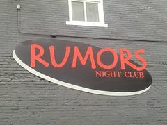 Rumors Night Club (PhotoJester40) Tags: outdoors outside rumors nightclub signlogo grandrapidsmichigan
