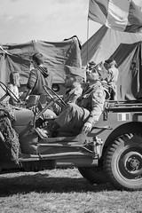 DSC07574 (regis.verger) Tags: jeep willys 1944 seconde guerre mondiale amricain char sherman cholet halftrack