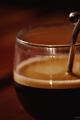 Coffee break (ccileR.) Tags: caf coffee glass morning lights