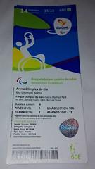 Sarrerak Joko Paralinpikoak / Entradas Juegos Paralimpicos (Gazteaukera) Tags: gotrio2016 rio2016 gazteaukera jokoparalinpikoak juegosparalmpicos paralimpics games rodejaneiro brasil