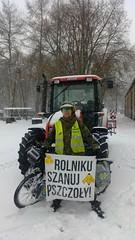 13030292 (szczym) Tags: trip winter bike poland polska zima rower bzzz pszczoły wyprawa miód robaki jedziemynamiodzie wyprawawobroniepszczół rolnikuszanujpszczoły
