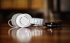 Audio-Technica (isayx3) Tags: music white ed nikon dof bokeh 85mm gear edward porn headphones f18 18 amplifier audio hifi earphones beats d800 iphone mcgowan technica athm50 fiio isayx3 plainjoestudios plainjoephotoblogcom athm50wh