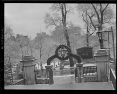 State House steps and gate (Boston Public Library) Tags: gates parks bostoncommon publicsculpture lesliejones