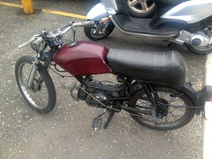"""Moped • <a style=""""font-size:0.8em;"""" href=""""http://www.flickr.com/photos/94329335@N00/8619389407/"""" target=""""_blank"""">View on Flickr</a>"""