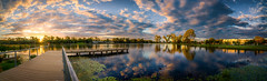 Shepparton Lake Pannorama 2013 (dazza17 - DJ) Tags: sunset lake dad flash textures strobe shepparton