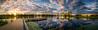 Shepparton Lake Pannorama 2013 (dazza17 - DJ) Tags: sunset lake dad flash textures strobe shepparton