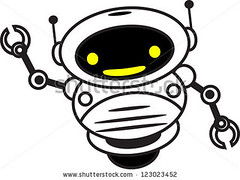 Robotic Cartoon Character (love vector) Tags: auto white game industry smile modern illustration children toy happy robot funny technology play symbol object character cartoon future automatic program worker hi welcome cyborg greeting android futuristic automation hallo cyber assistant robotic
