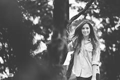 Alex BW (ZekaG) Tags: ca blackandwhite black canon hair season photography prime woods photographer dof folsom sacramento 2013 lixxim californiasenior lixim
