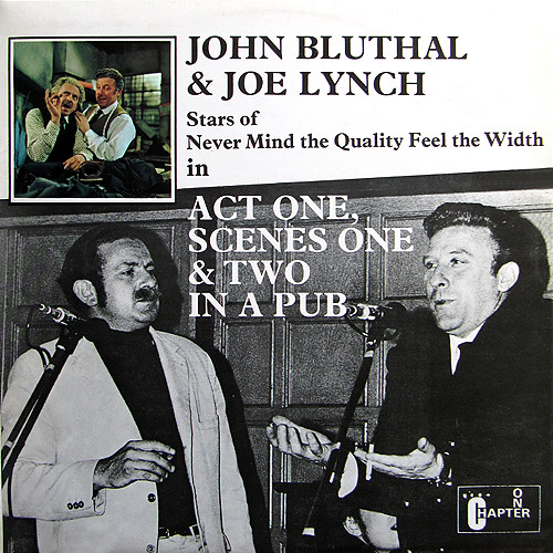 John Bluthal and Joe Lynch - Act One, Scenes One and Two in a Pub
