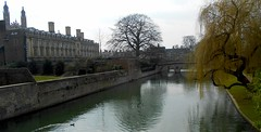 The Colleges, Cambridge, UK (bevtromp) Tags: cambridge england history boats spring historical kingscollege colleges rivercam narrowboats
