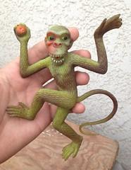 Gigantor jiggler monkey (Keffpristine1) Tags: vintage king ben rubber kong cooper jiggler