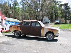 RUSTY BONDO BEAST (richie 59) Tags: auto trees usa cars ford car america sedan outside us spring rust automobile unitedstates antiquecar rusty vehicles chrome rusted vehicle newyorkstate autos oldcar sideview oldcars fords automobiles rustycar oldford nystate rustyoldcar americancars hudsonvalley fomoco antiquecars bondo americancar motorvehicles ulstercounty motorvehicle 4door autorepairshop uscar uscars midhudsonvalley 1950scar 1950scars fordmotorcompany 2013 fourdoor oldrustycar ulstercountyny 4doorsedan fordsedan fourdoorsedan 1951ford americansedan 2010s rustyford oldsedan townofulster richie59 april2013 townofulsterny 1951fordsedan april212013