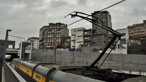 Metro do Porto - Pantógrafo