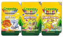 Artist Joe Lacey Target Crayola Boxes (gregg_koenig) Tags: flower ice fire artist power joe autograph target boxes monsters lacey crayon monstrous crayola signed