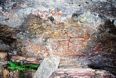 Art_Aboriginal_NT_Kakadu_F1050016_2_D (renrut01) Tags: art native paintings australia kakadu aboriginal rockart northernterritory indigenious
