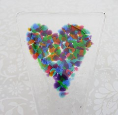 Fused Plant Decorations (9) (Glittering Prize - Trudi) Tags: plant glass decoration marker trudi fused britcraft glitteirngprize