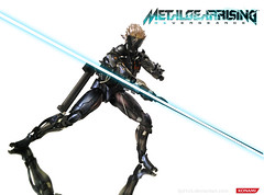 Play Arts Kai - Raiden (opt1cs) Tags: metal square jack rising hound gear playa kai fox squareenix enix rts solid ripper konami kojima raiden revengeance