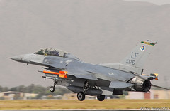 F-16D Fighting Falcon 310th FS 88-0175 (Pasley Aviation Photography) Tags: arizona training plane education fighter force glendale aircraft military air luke f16 falcon fighting viper base command fs squadron afb tophats aetc f16d azap 310th 880175