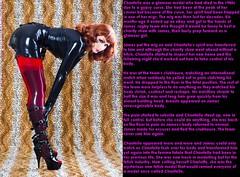Glamour model (Jenni Makepeace) Tags: fetish transformation magic tgirl sissy caption captions mtf tgcaptions tgcaption