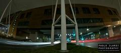 long exposure. (117/365) (Paolo Ilardi) Tags: street light urban fish lightpainting eye photoshop project landscape torino photography lights photo long exposure foto fisheye piemonte luci fotografia turin urbanlandscape progetto project365 progetto365