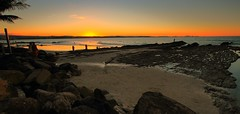 snapper rocks  sunset (rod marshall) Tags: ocean sunset beach sunrise snapper snapperrocks