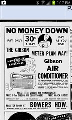 1956 Gibson Ad (The Air Conditioner Guy) Tags: old vintage air airconditioner older ac gibson conditioner unit flickrandroidapp:filter=none