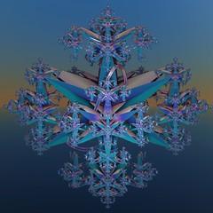 Blue realm (vivienrk) Tags: blue digital fractal incendia