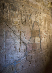 Hieroglyphs In The Mammisi Chapel Of The Temple Of Amun At The Foot Of Jebel Barkal, Karima, Sudan (Eric Lafforgue) Tags: africa old travel history archaeology vertical stone temple photography ancient cobra day northafrica soedan sudan tomb nopeople carving unescoworldheritagesite indoors engraving ancientcivilization nubia thepast karima oneperson soudan hieroglyph saharadesert northernafrica artandcraft traveldestinations colorimage famousplace meroitic illustrationandpainting  1people egyptianculture szudn sudo jebelbarkal  northernsudan ancientegyptianculture northsudan blackpharaohs     napatakingdom  xuan eri7448