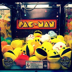 Pac-Man Claw Machine #Pacman #ghosts #Namco... (MisledYouth74) Tags: videogames plushies pacman ghosts prizes namco clawmachine uploaded:by=flickstagram instagram:photo=441593636315566992202252659
